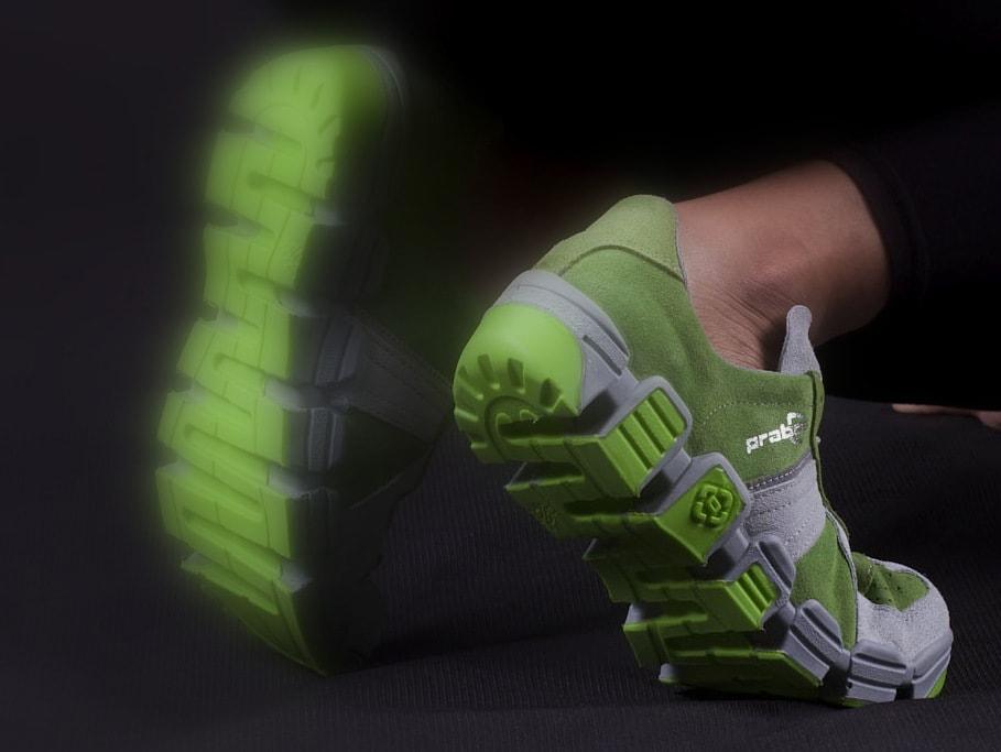 elastyczna podeszwa SNAKE do butów roboczych S3