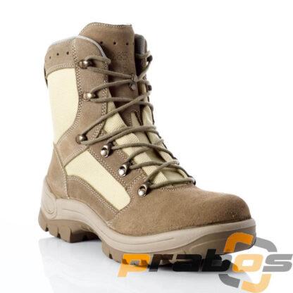 Buty wojskowe pustynne desert produkowane dla Bundeswehr z membraną Gore Tex z firmy Prabos dostępne różne rozmiary
