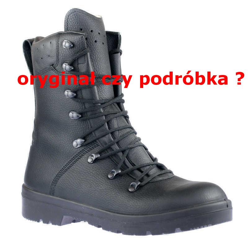 Oryginalne buty wojskowe Bundeswehr BW 2005