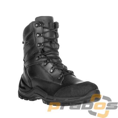 Czarne wysokie buty dla jednostek specjalnych Policji z metalowym noskiem Prepper Prabos