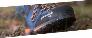 Buty trekkingowe z membranąGoreTex w kolorze niebieskim
