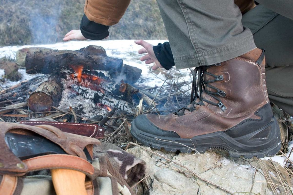 wysokie, lekkie buty w terenie