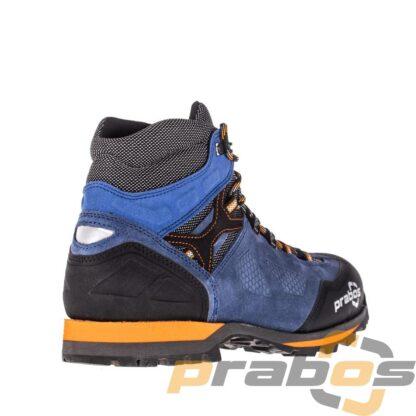 Buty trekkingowe za kostkę niebieskie dla poszukiwaczy przygód.