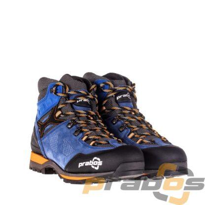trwałe i funkcjonalne buty trekkingowe niebieskie.