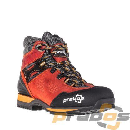 Buty trekkingowe na lato. Kolor czerwony.