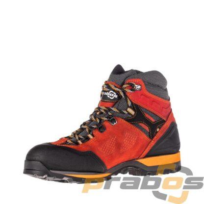 czerwone buty trekkingowe damskie za kostkę Acotango od Prabos