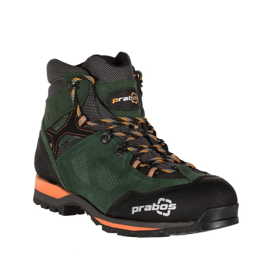 Zielone Letnie Buty trekkingowe z membraną Gore-Tex od firmy Prabos
