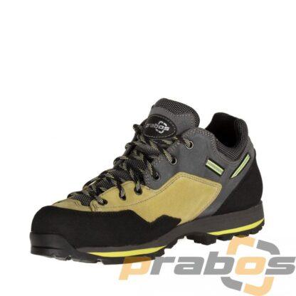 Buty trekkingowe podejściowe niskie Ampato z Vibram i Gore-Tex Carbon Silver.