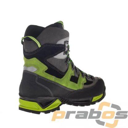 Zielone buty trekkingowe Socompa z Vibram i Gore.