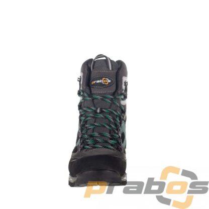 Kolor petrol, męskie wysokie buty trekkingowe na lato
