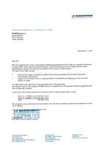 Referencje Bundeswehr