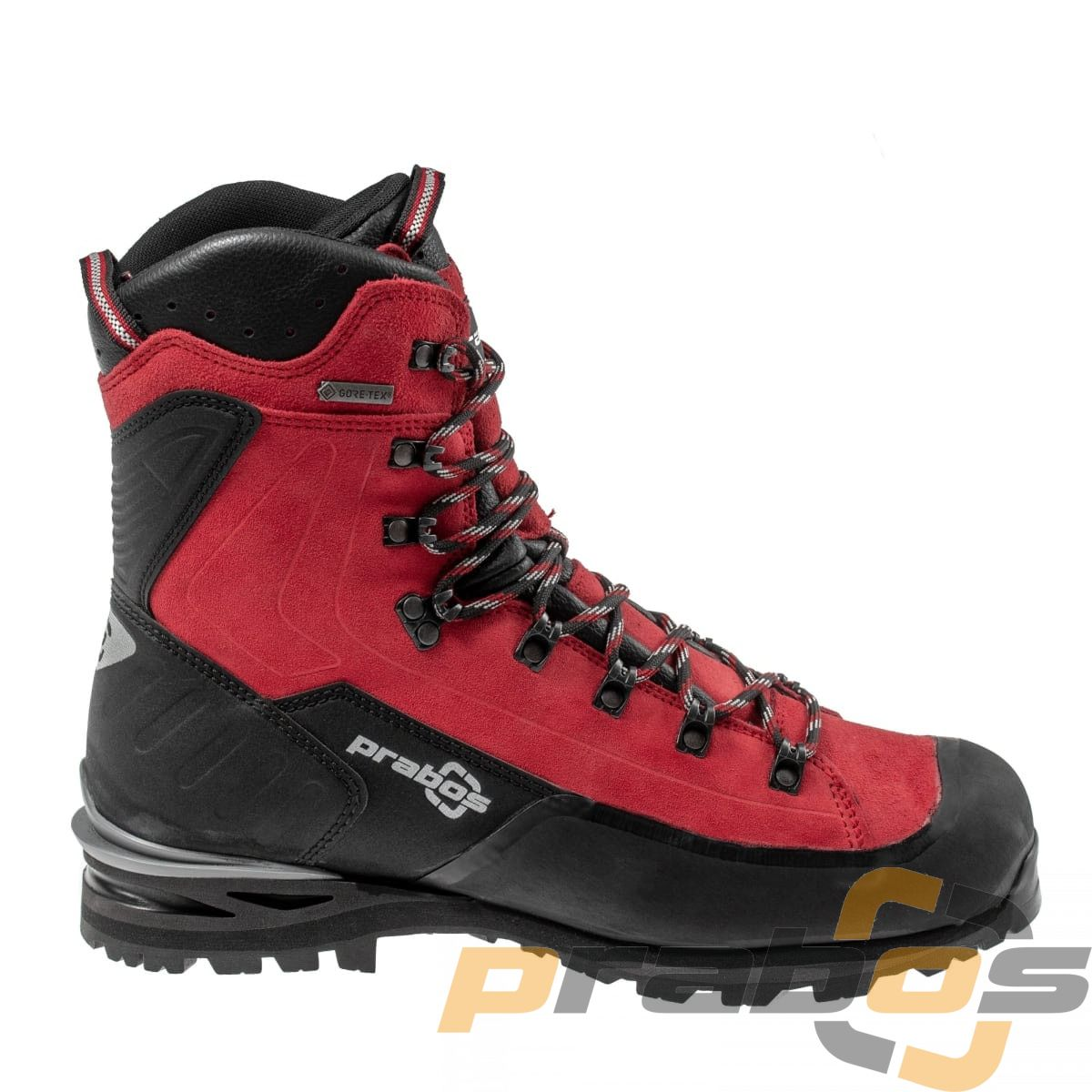 Wysokie buty górskie pod raki z membraną Gore-Tex i Vibram