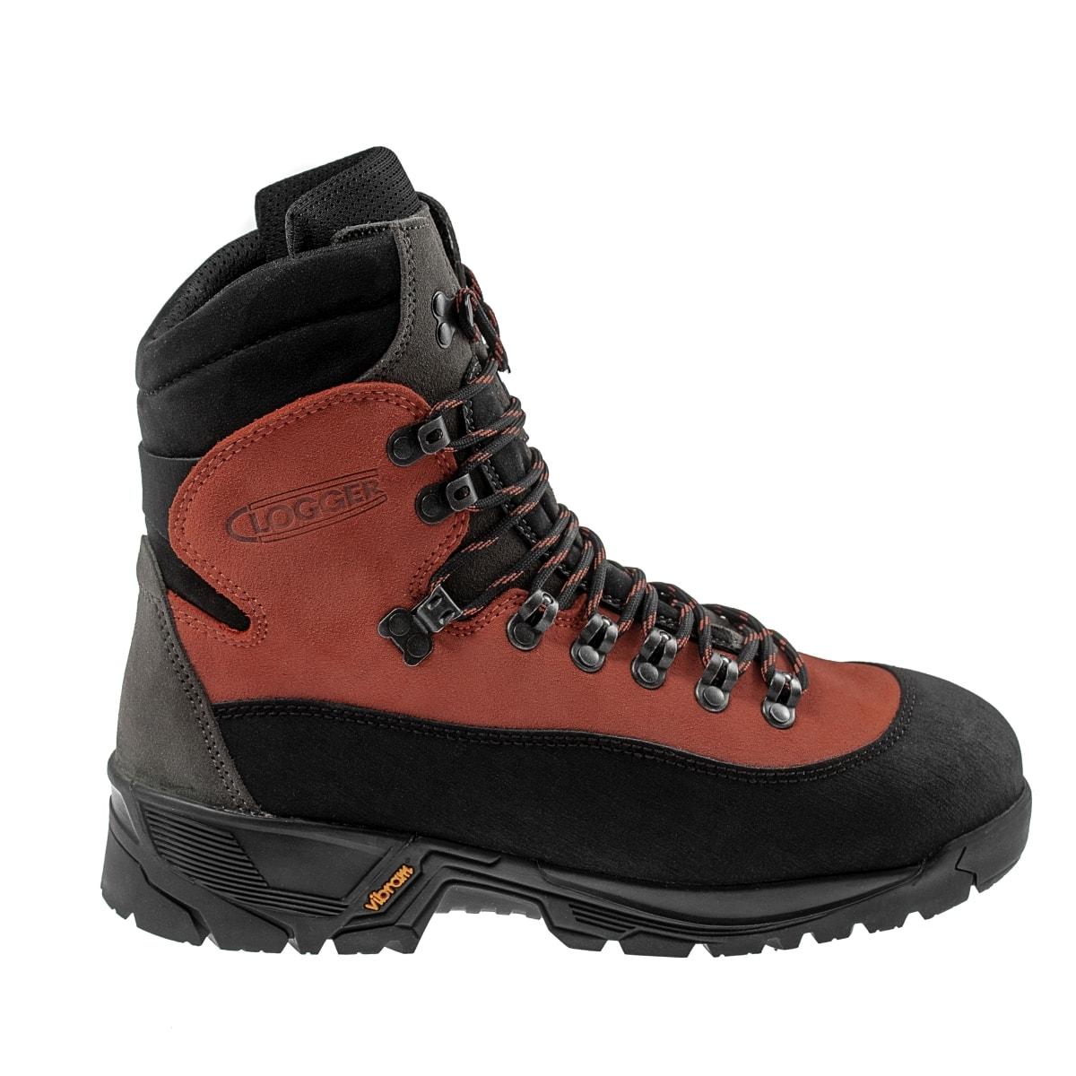 82a349bac003b5 Skórzane buty antyprzecięciowe klasy 2 dla drwali