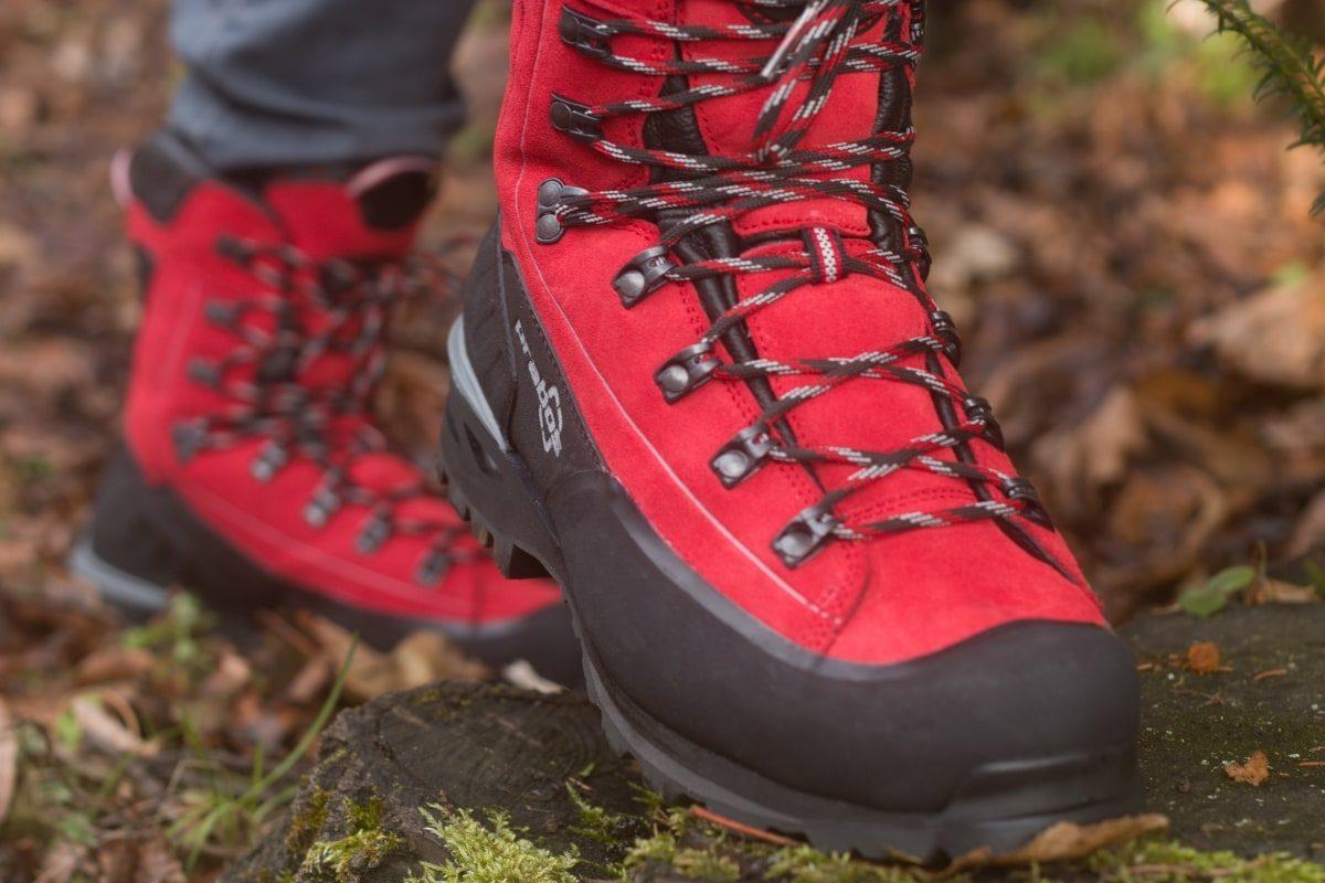 Wysokie buty trekkingowe
