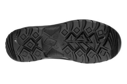 Czarna i niska podeszwa do butów letnich taktycznych dla Policji Mars.