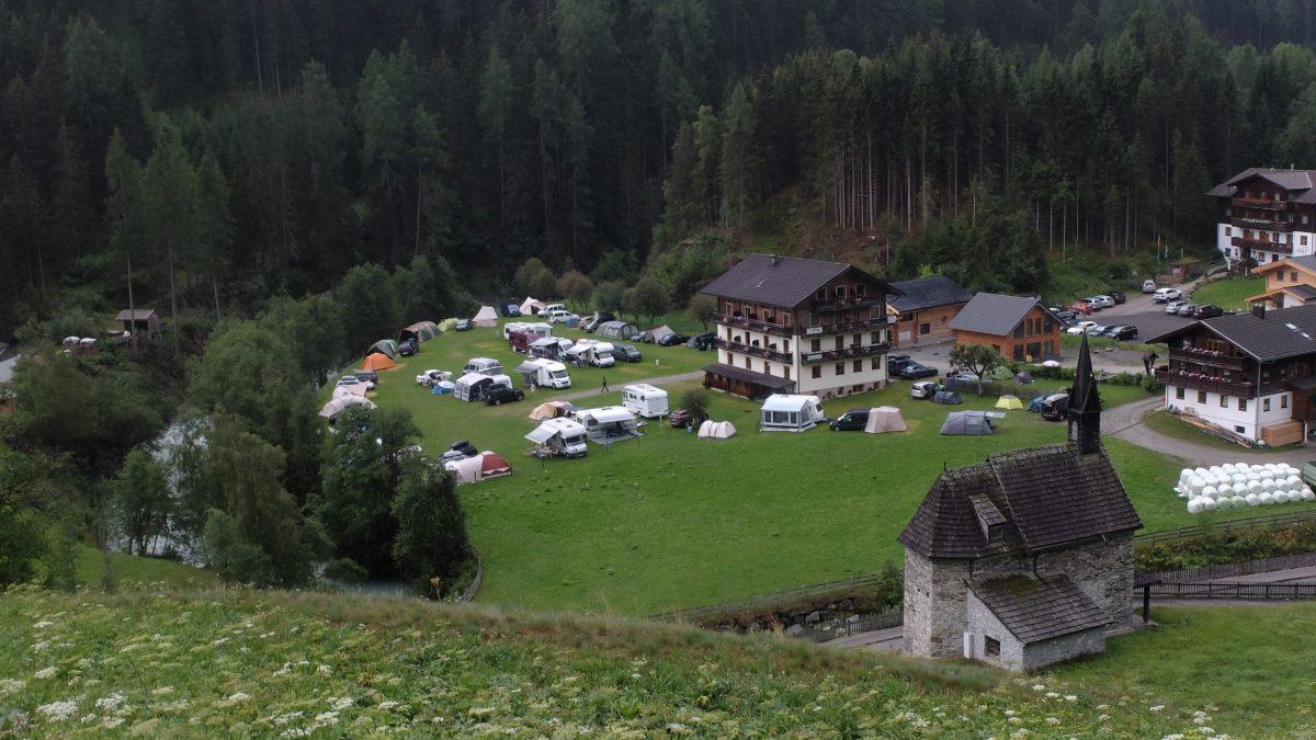 Camping Bergkristall, Hinterbichl