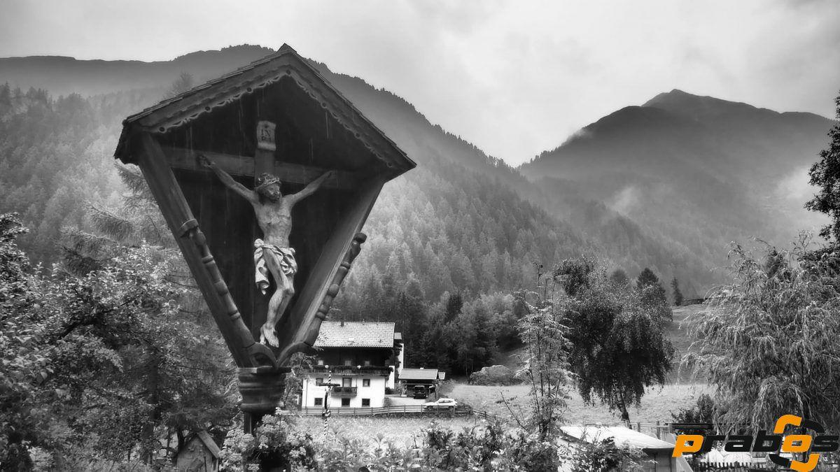Kapliczka na szlaku w Hinterbichl