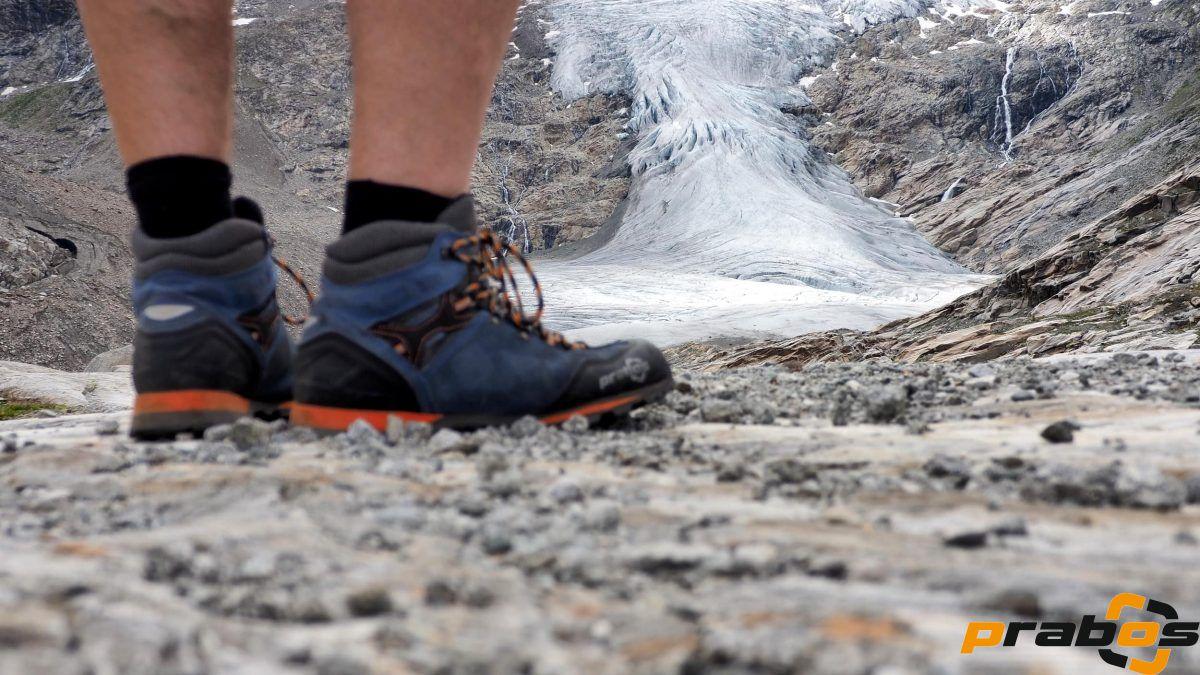 Buty Prabos jęzor w jęzor z lodowcem Schlatenkees