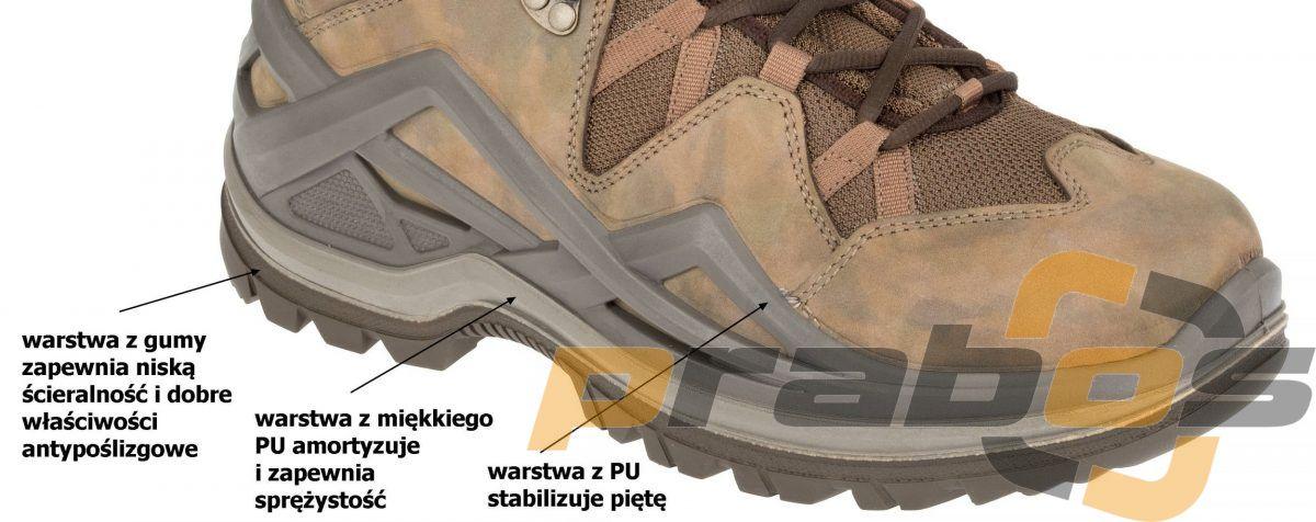 Amortyzujące buty taktyczne