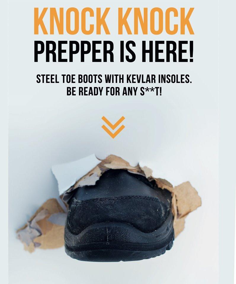 Prepper buty taktyczne z metalowym noskiem