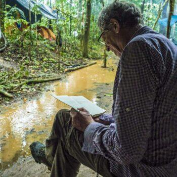 Buty jungle podczas ekspedycji