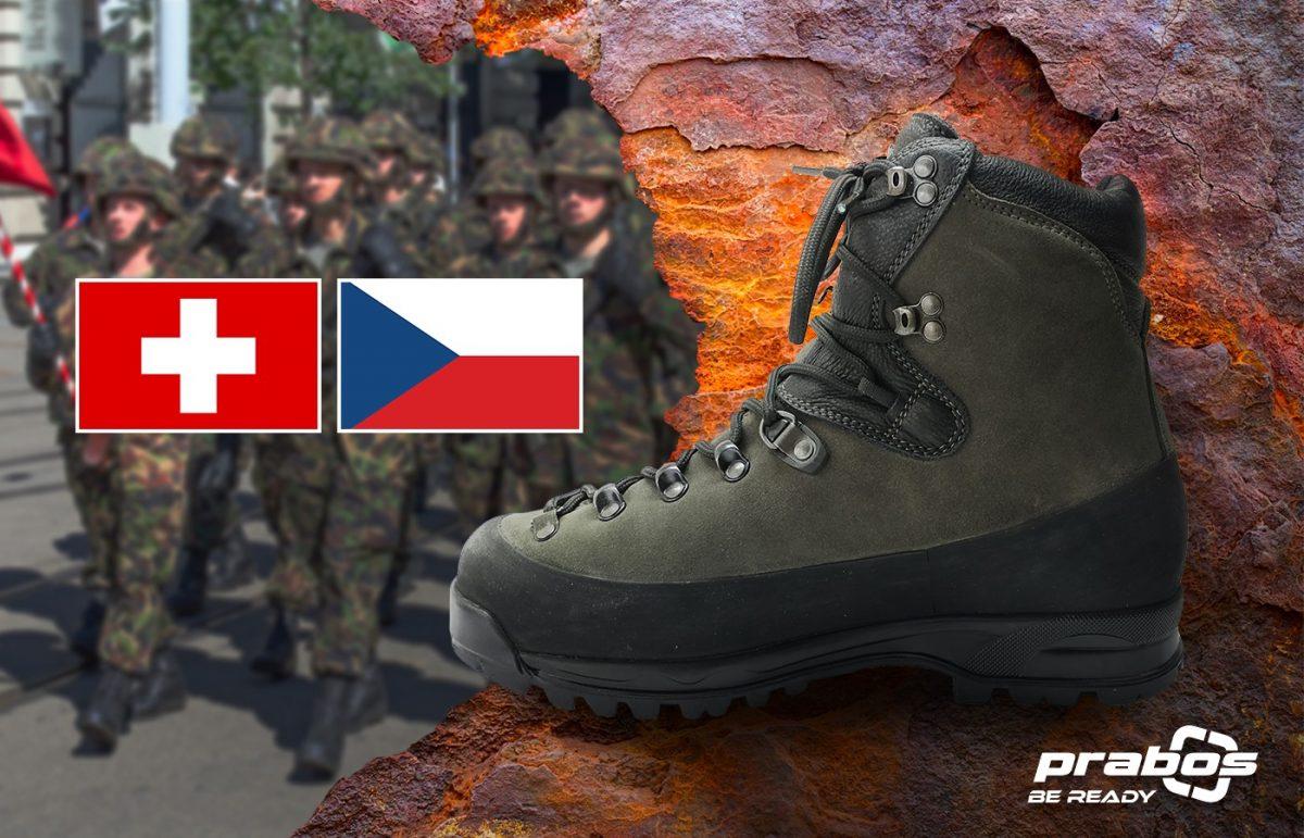 Górskie buty wojskowe dla Szwajcarskich Sił Zbrojnych