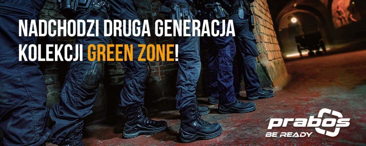 Buty Taktyczne Green Zone kolekcja 2020