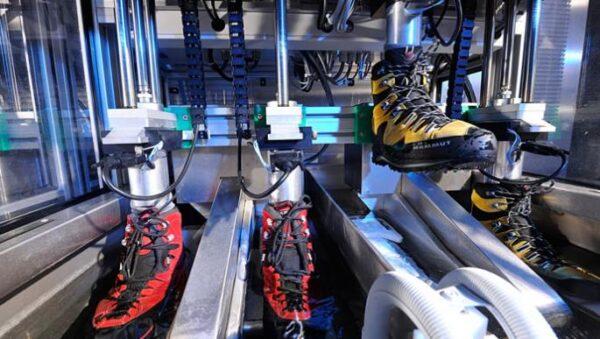 symulaator chodu badanie wodoodporności obuwia