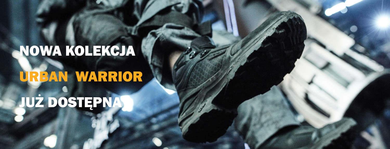 Kolekcja na rok 2021 buty taktyczne i wojskowe URBAN WARRIOR