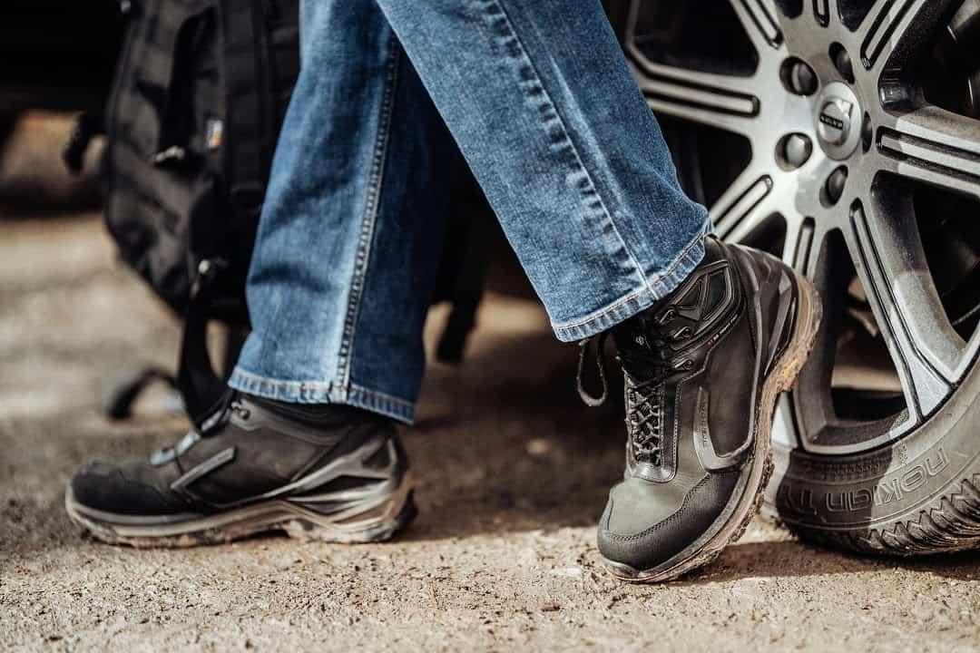 Miejskie buty trekkingowe Python dla mężczyzn i kobiet na lato i zimę.