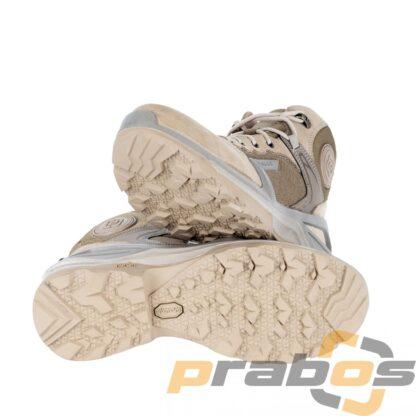 Buty sportowe na lato bez membrany z lekką podeszwą Vibram. Przewiewne, lekkie i amortyzujące dzięki nowej trójgęstościowej podeszwie.