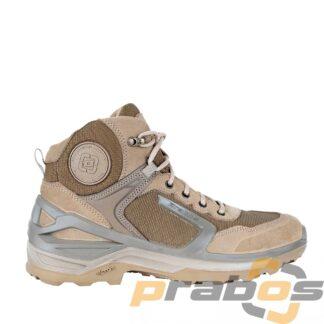 Shadow taktyczne buty na lato bez membrany beżowe. Widok z boku.