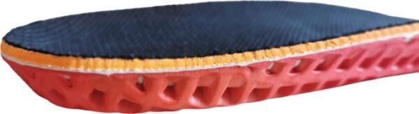 Budowa wkładki amortyzującej do butów wojskowych